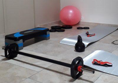 Espace Fitness, sauna et Bien-Être - Maison d'Hôtes